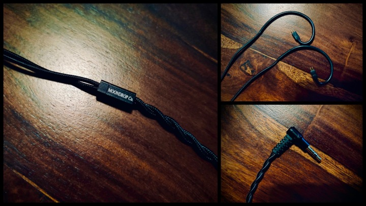 Moondrop Aria Cable Collage