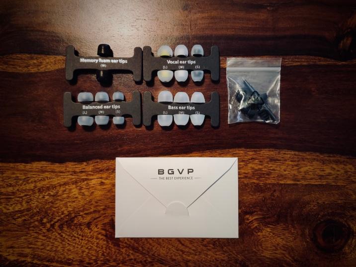 BGVP DM8 Accessories